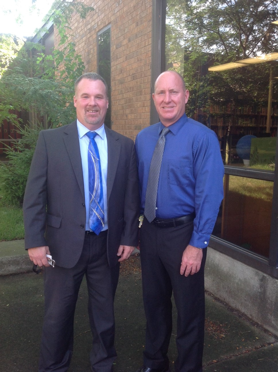 Mr. Breithaupt- Principal, Mr. Lawson- Asst. Principal