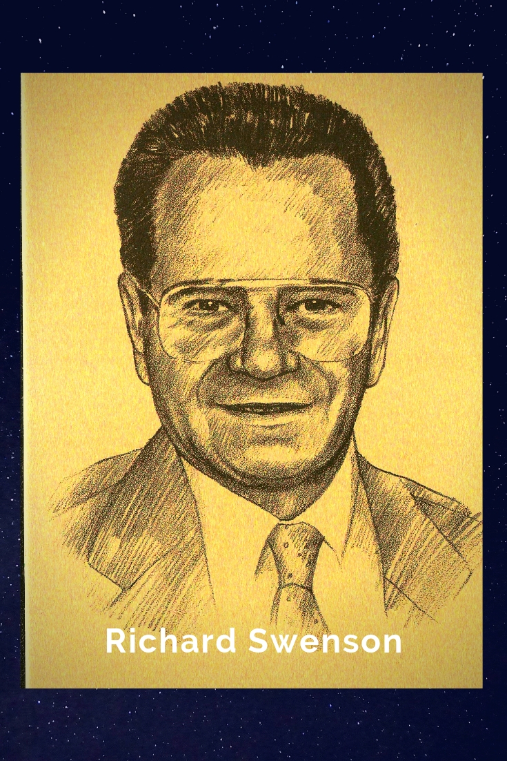 Drawing Portrait Recreation of Richard Swenson