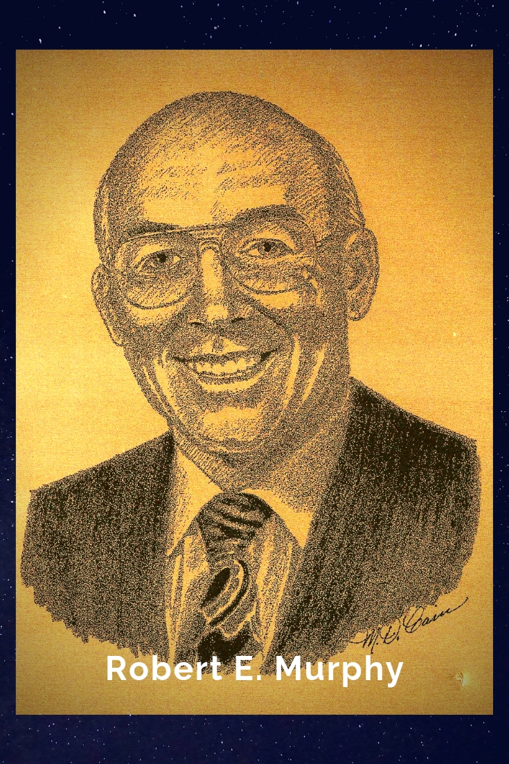 Drawing Portrait Recreation of Robert E. Murphy