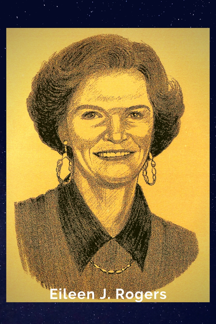 Drawing Portrait Recreation of Eileen J. Rogers