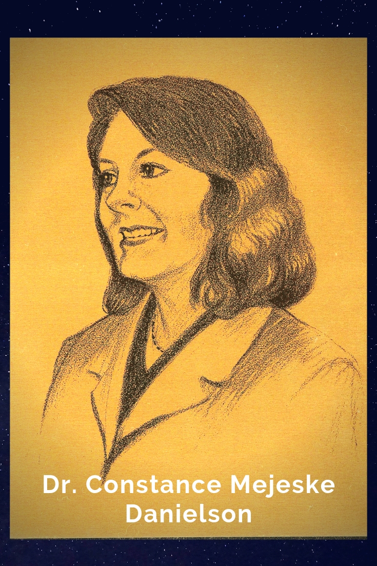 Drawing Portrait Recreation of Dr. Constance Mejeske Danielson