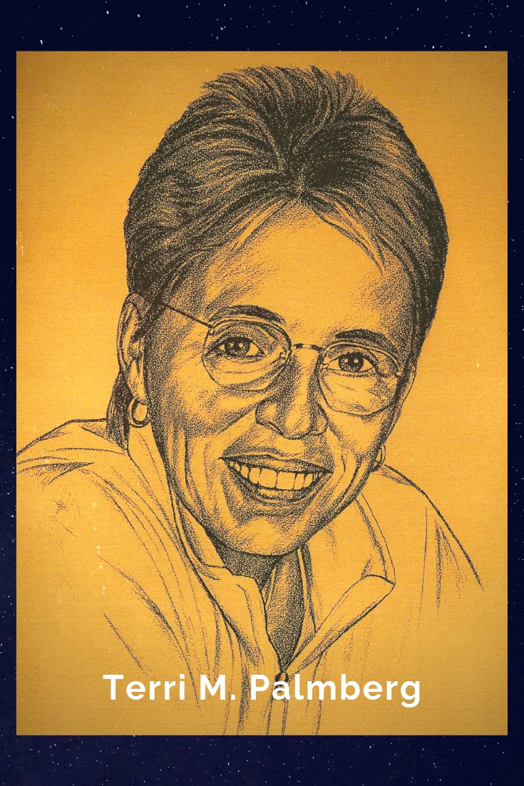 Drawing Portrait Recreation of Terri M. Palmberg