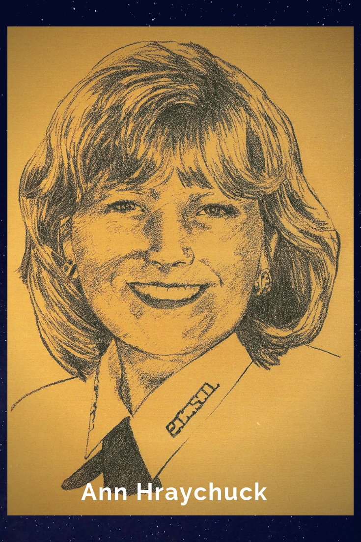 Drawing Portrait Recreation of Ann Hraychuck