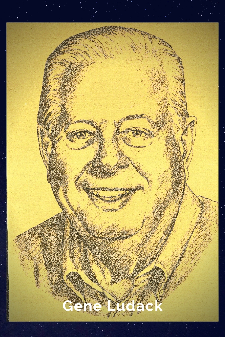 Drawing Portrait Recreation of Gene Ludack