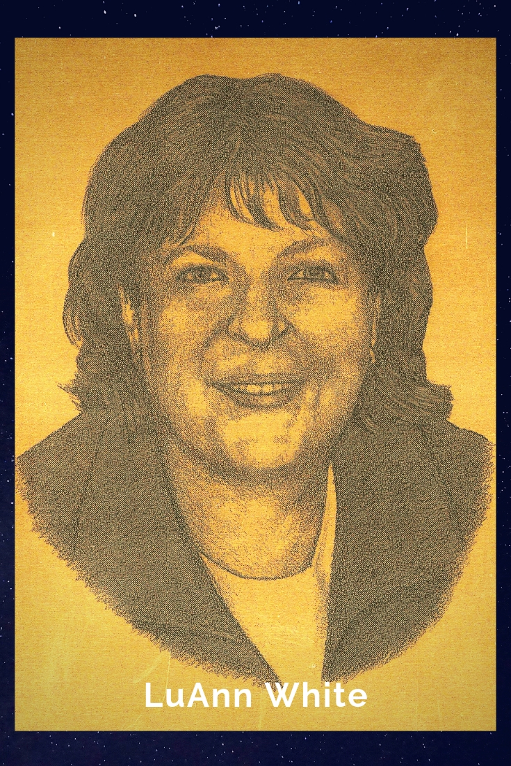 Drawing Portrait Recreation of LuAnn White