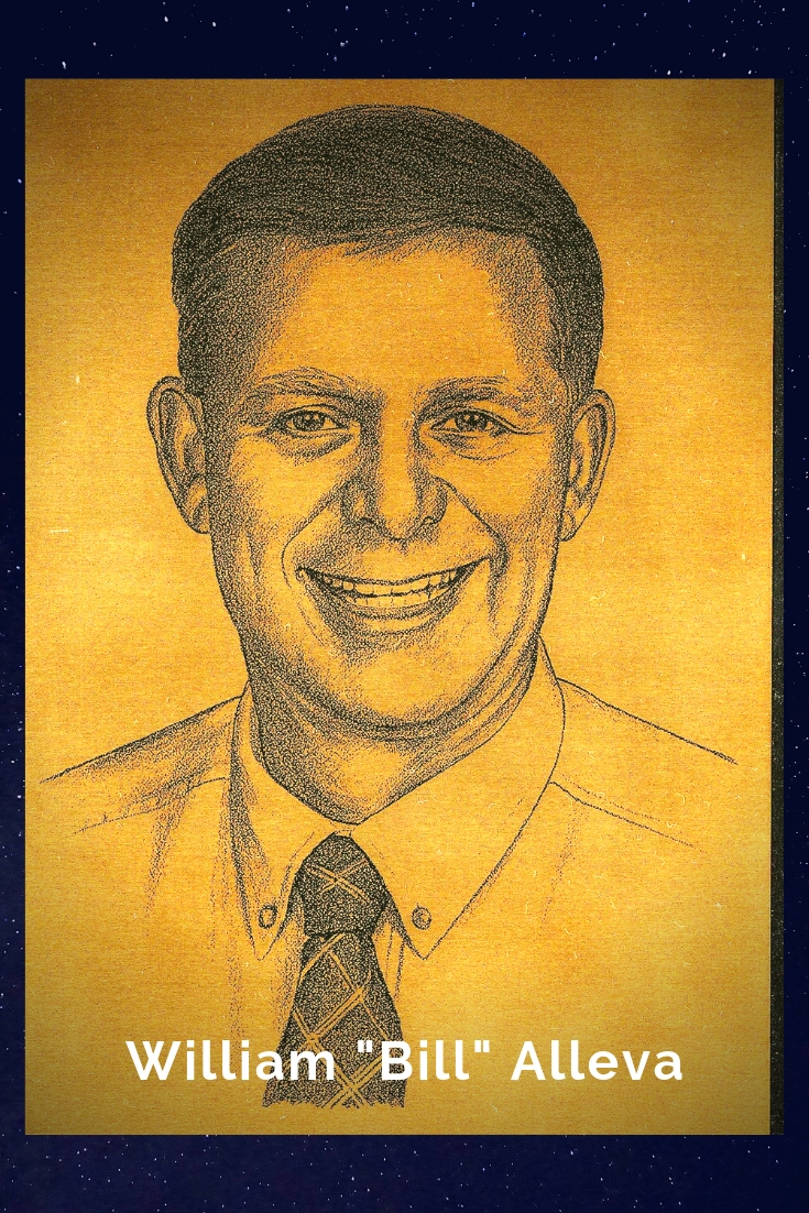 "Drawing Portrait Recreation of William ""Bill"" Alleva"