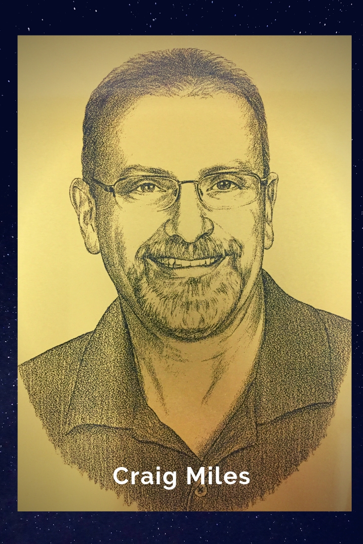 Drawing Portrait Recreation of Craig Miles
