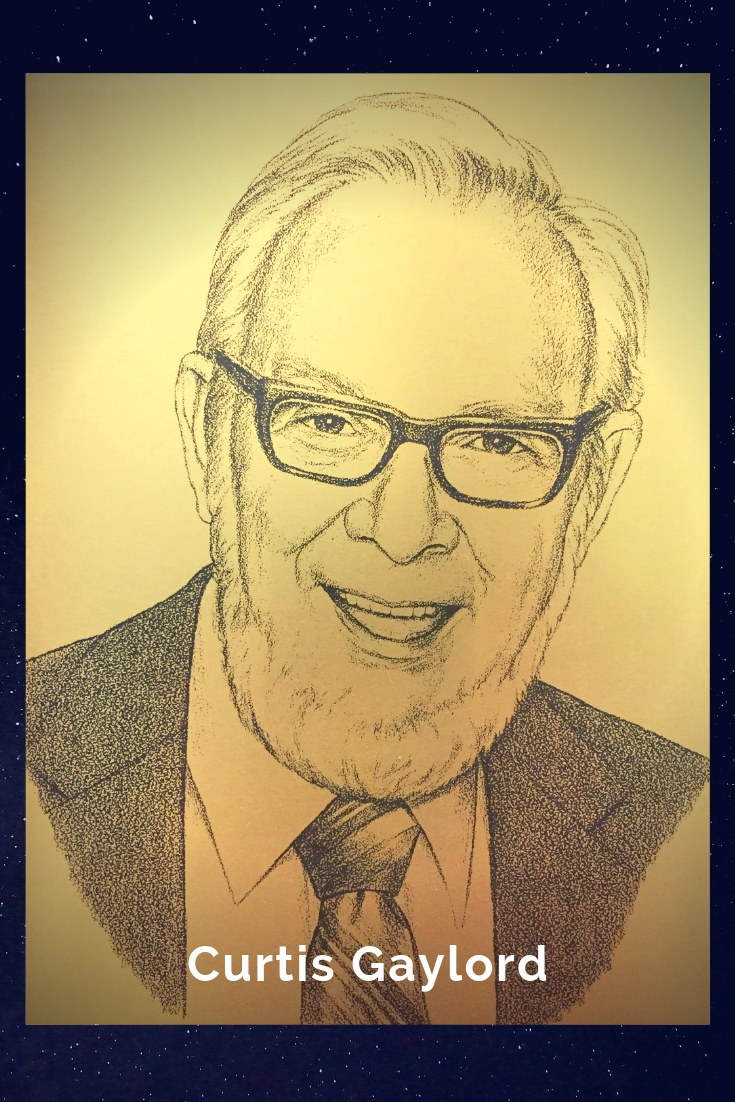 Drawing Portrait Recreation of Curtis Gaylord