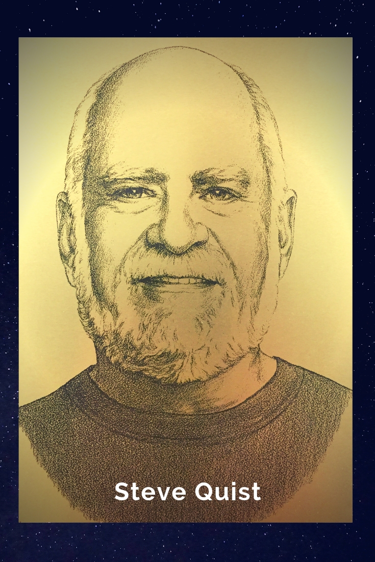 Drawing Portrait Recreation of Steve Quist