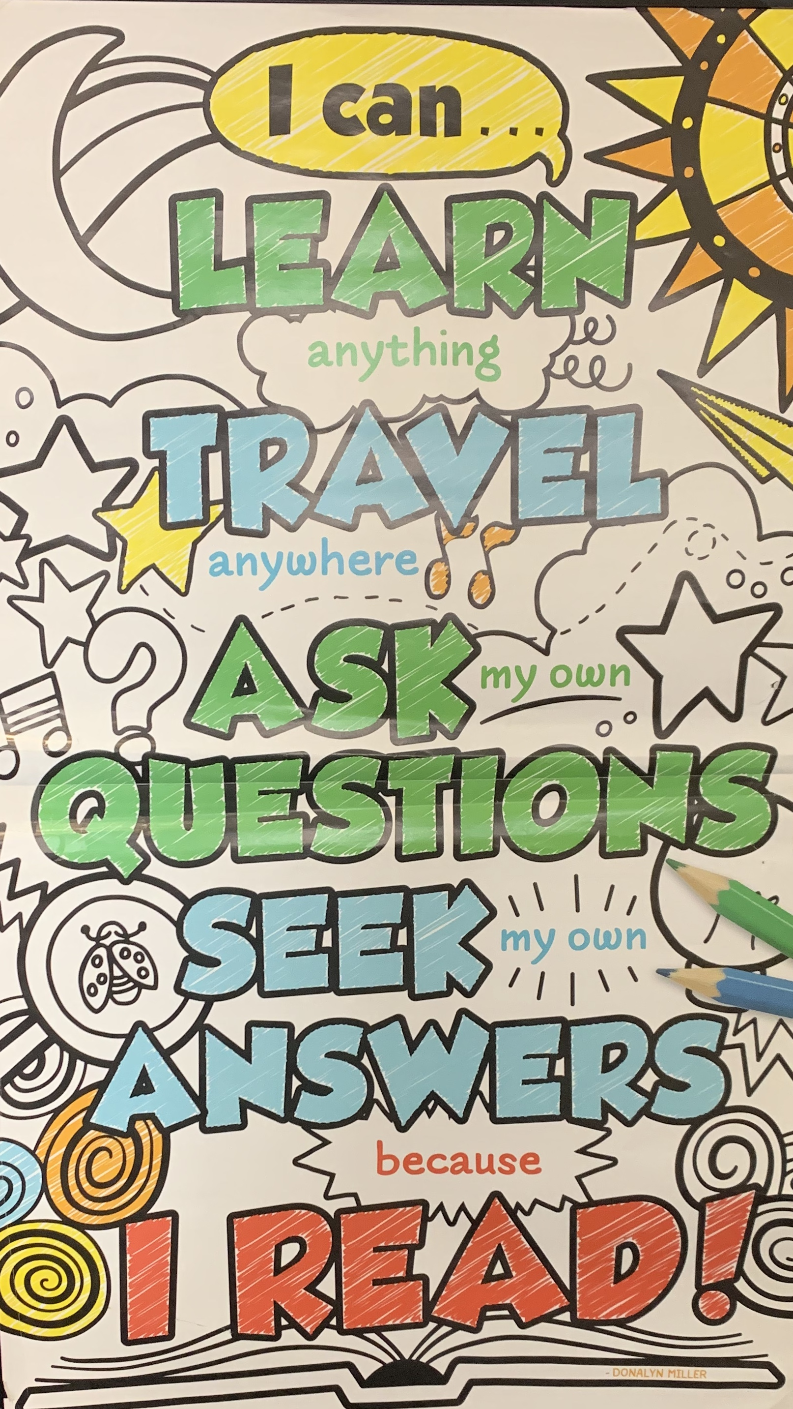 i can learn, travel, ask questions, seek answers book