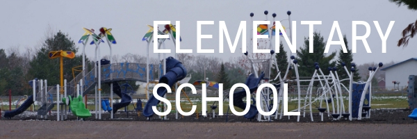 """photo of a playground that says """"elementary school"""""""