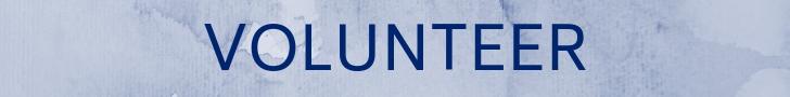 volunteer banner