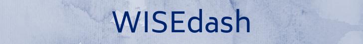 WISEdash banner