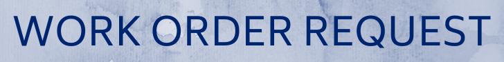 Work Order Request banner