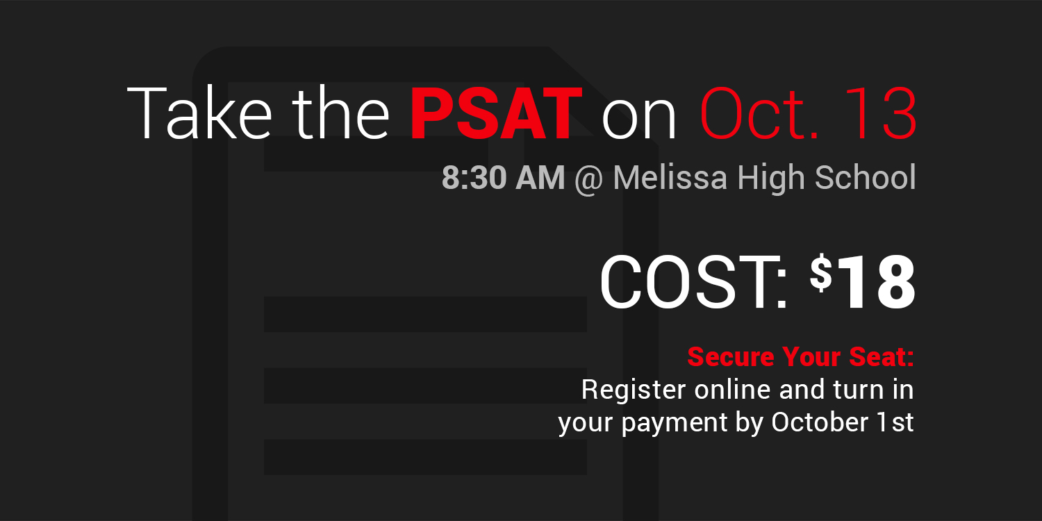 a graphic with information about the PSAT