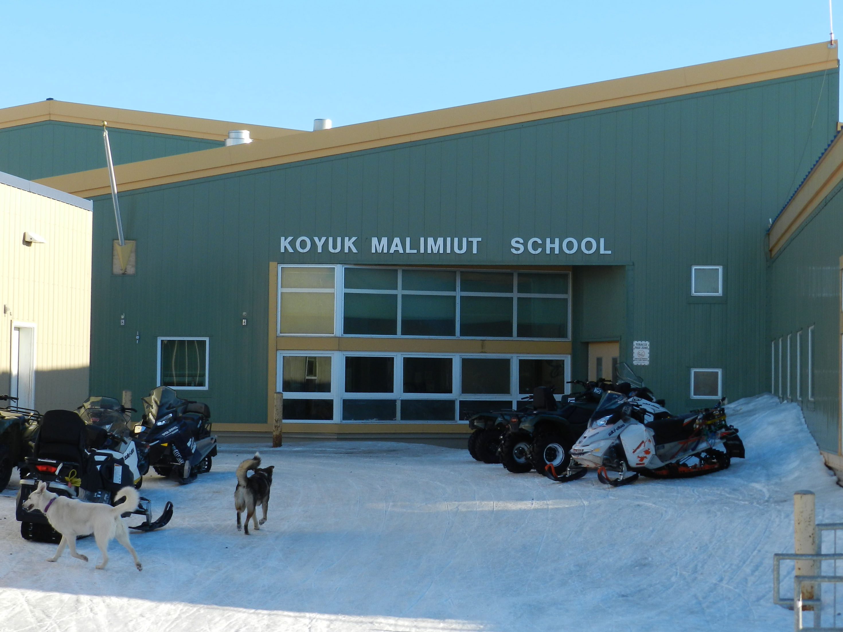 Koyuk School Building