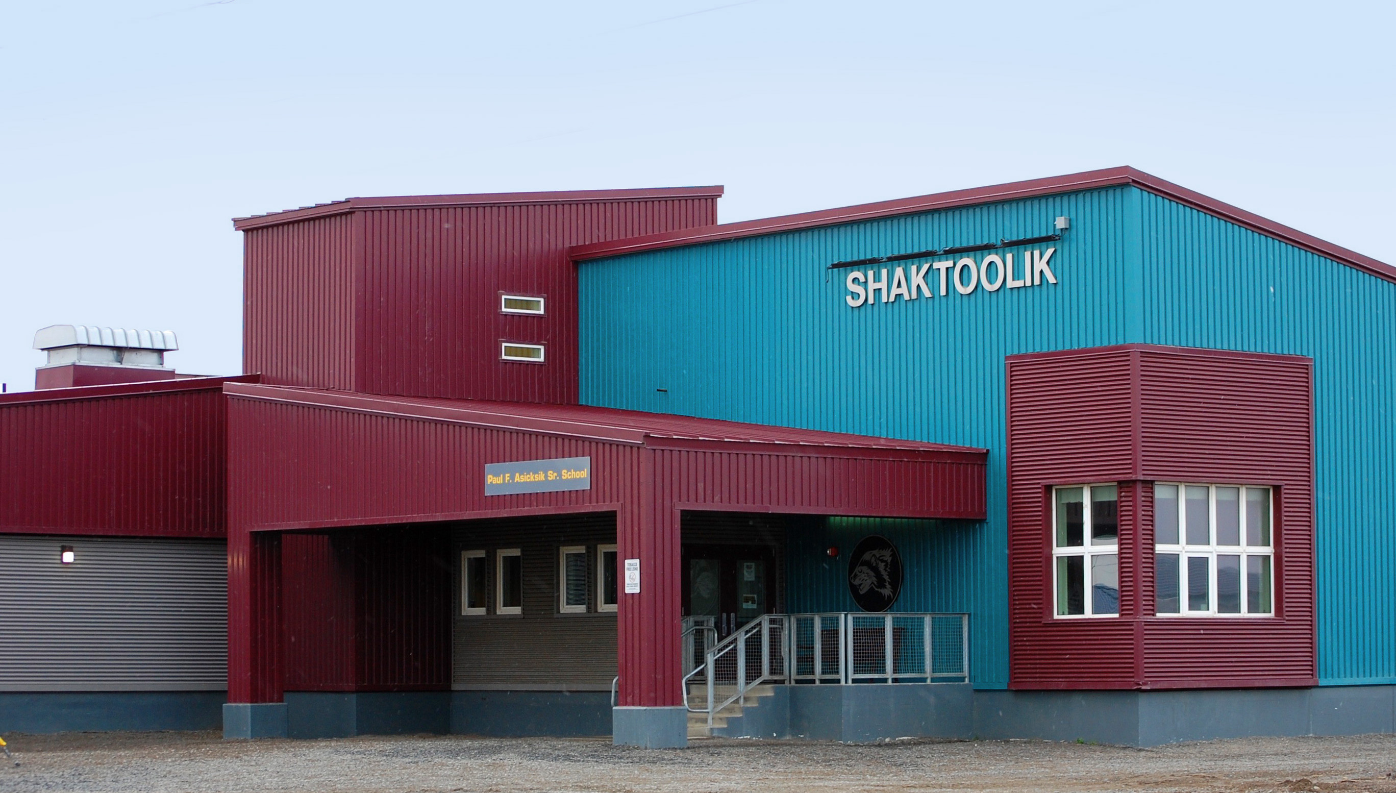 Shaktoolik School building