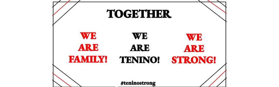#teninostrong signage