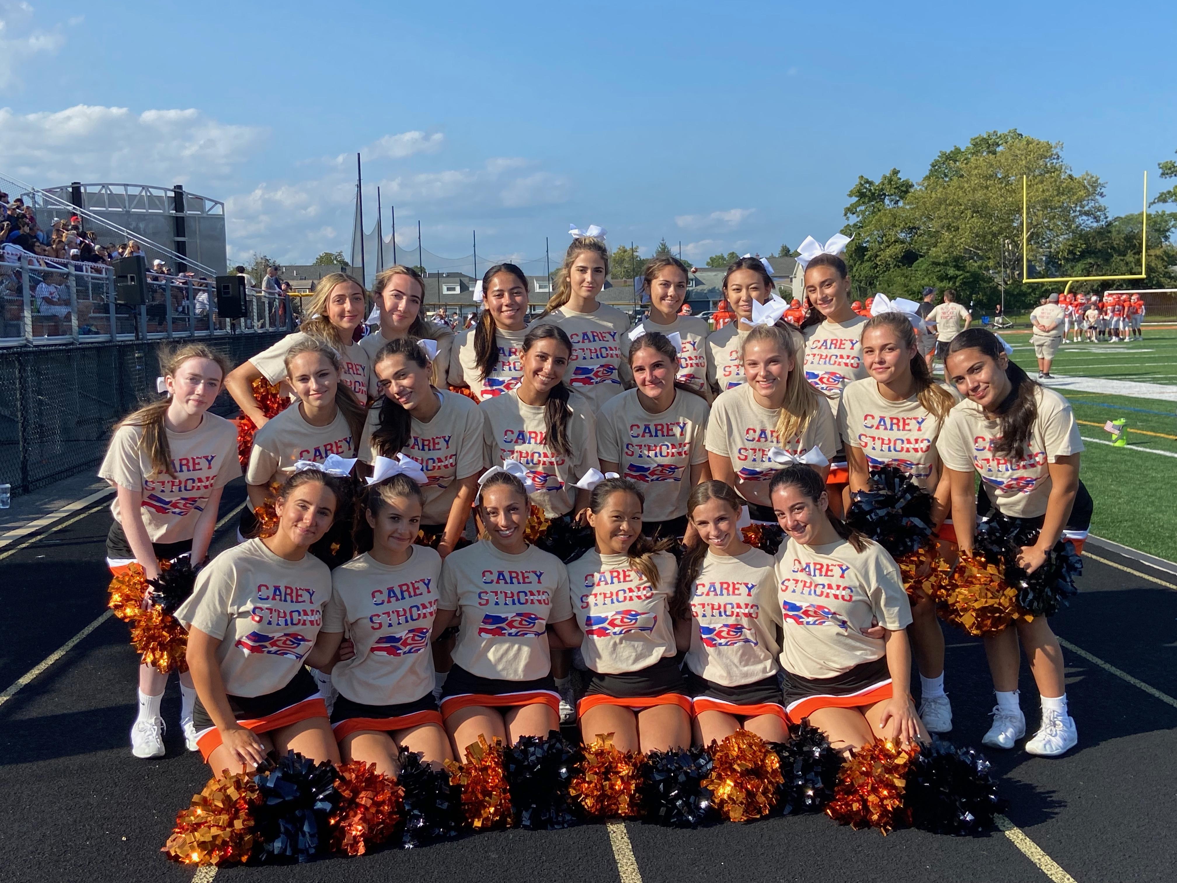 HFC Cheerleaders Homecoming 2021