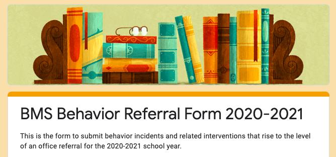 Behavior Refereal