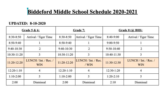 BMS Schedule 20-21