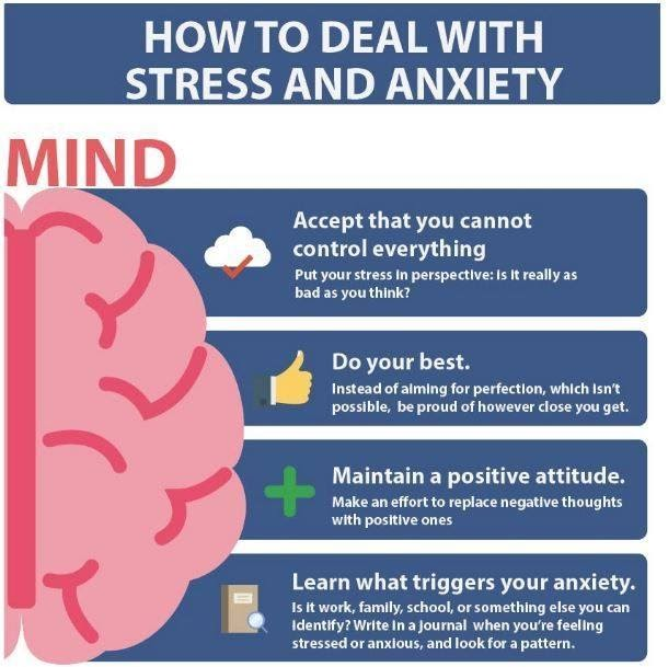 How to deal with stress and anxiety