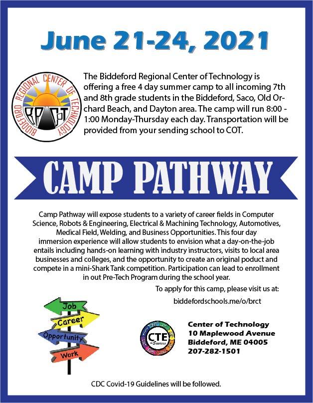 Camp Pathways Flyer