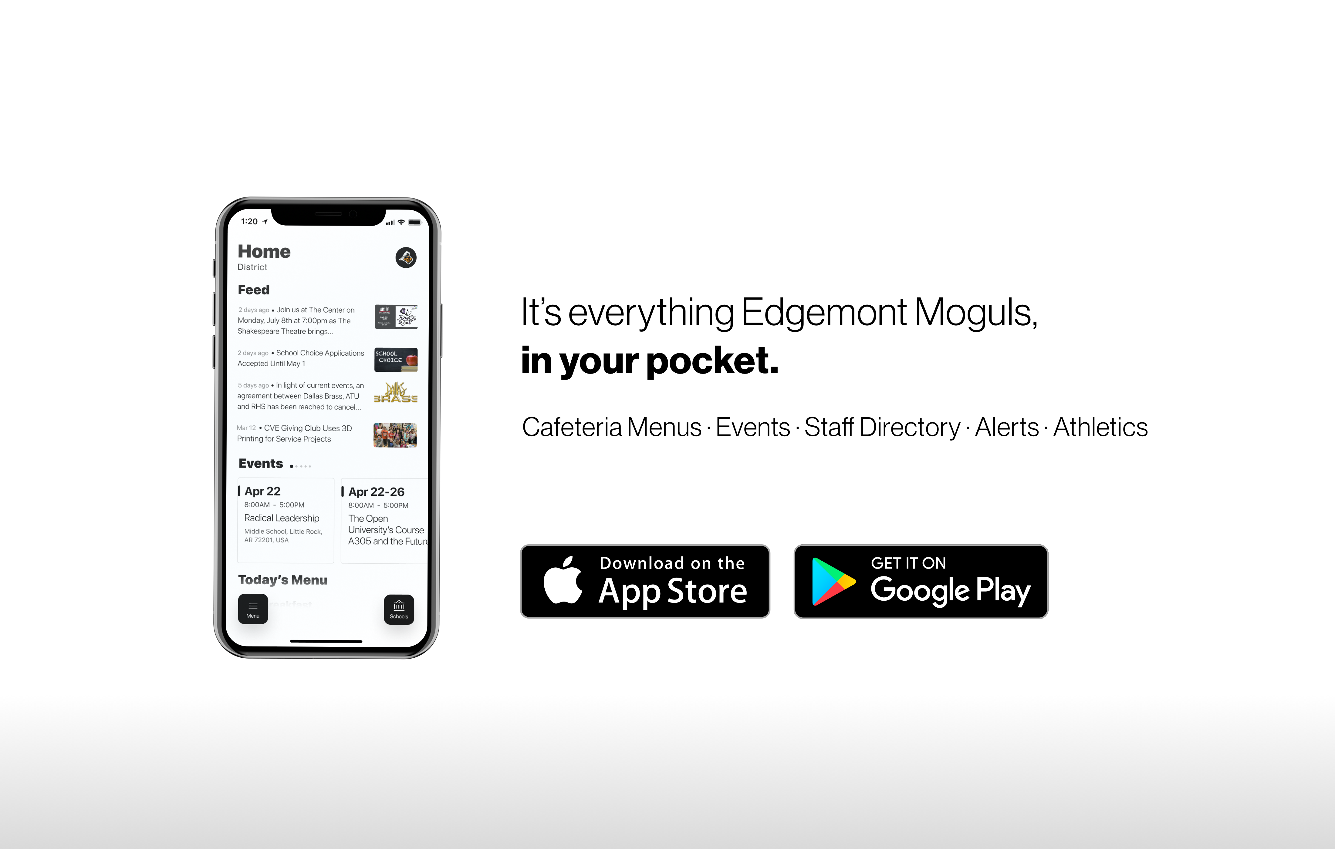 It's everything Edgemont Monguls, in your pocket!