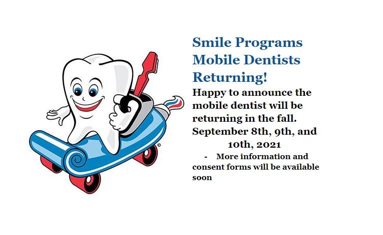 Smile returning!