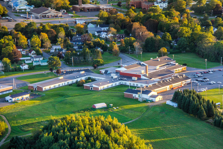 HHS aerial