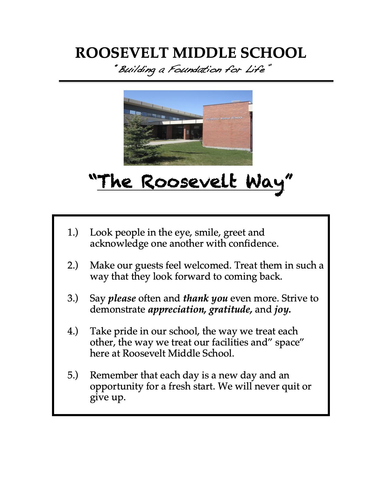 Roosevelt Way graphic