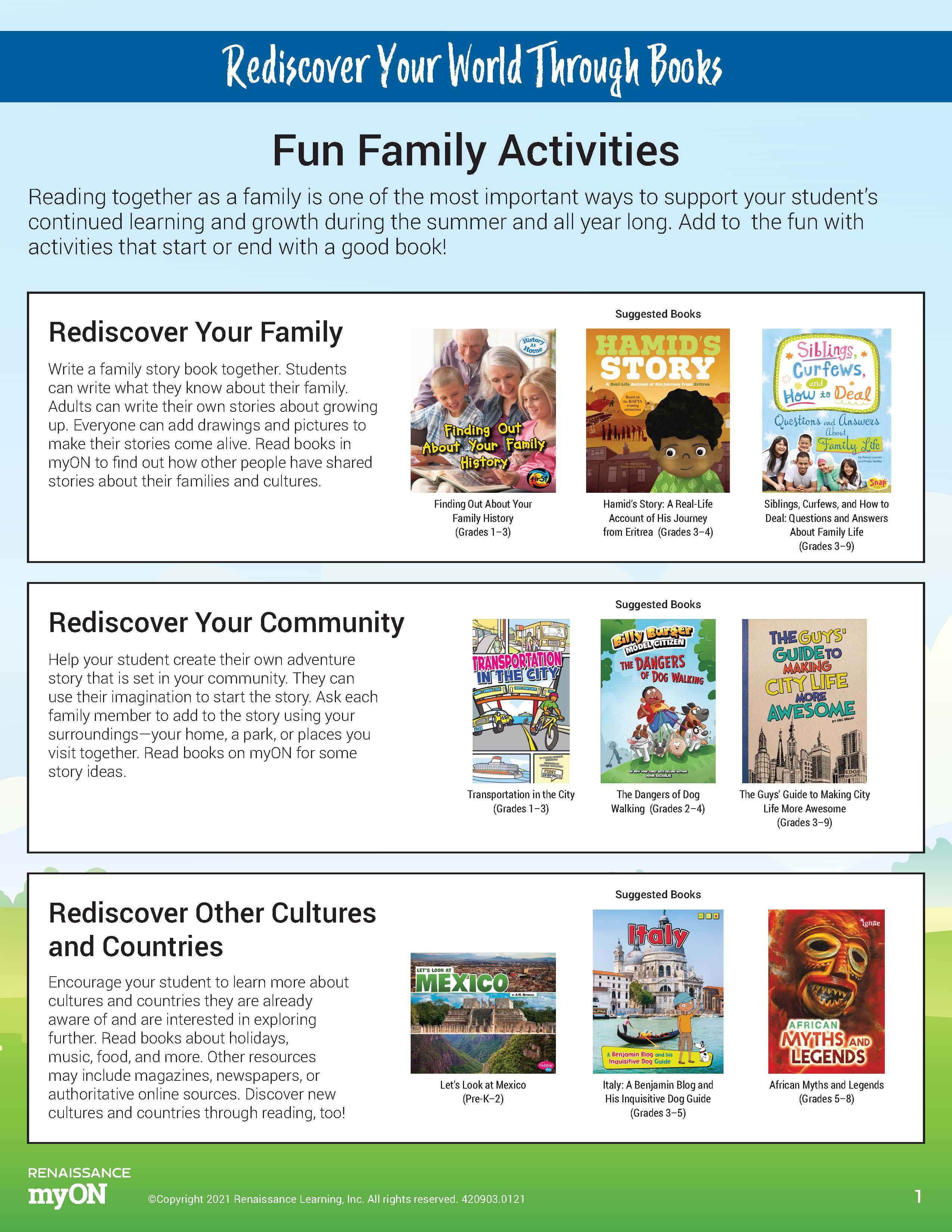 Family Activity 1