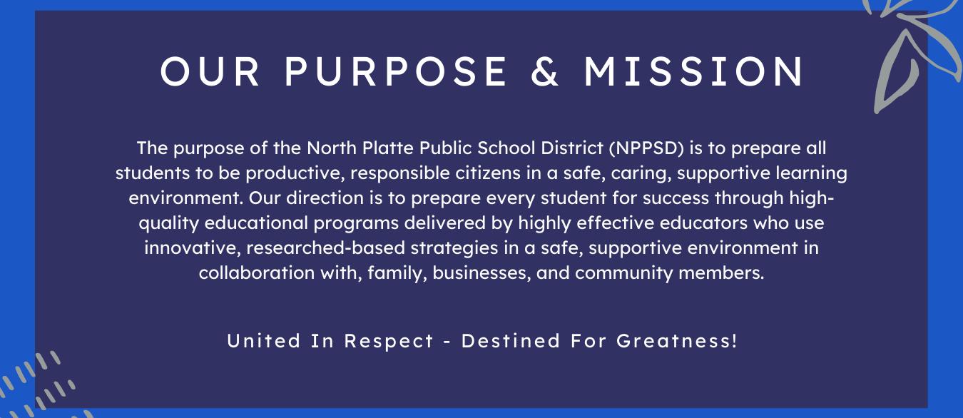 NPPSD Mission & Purpose Statement