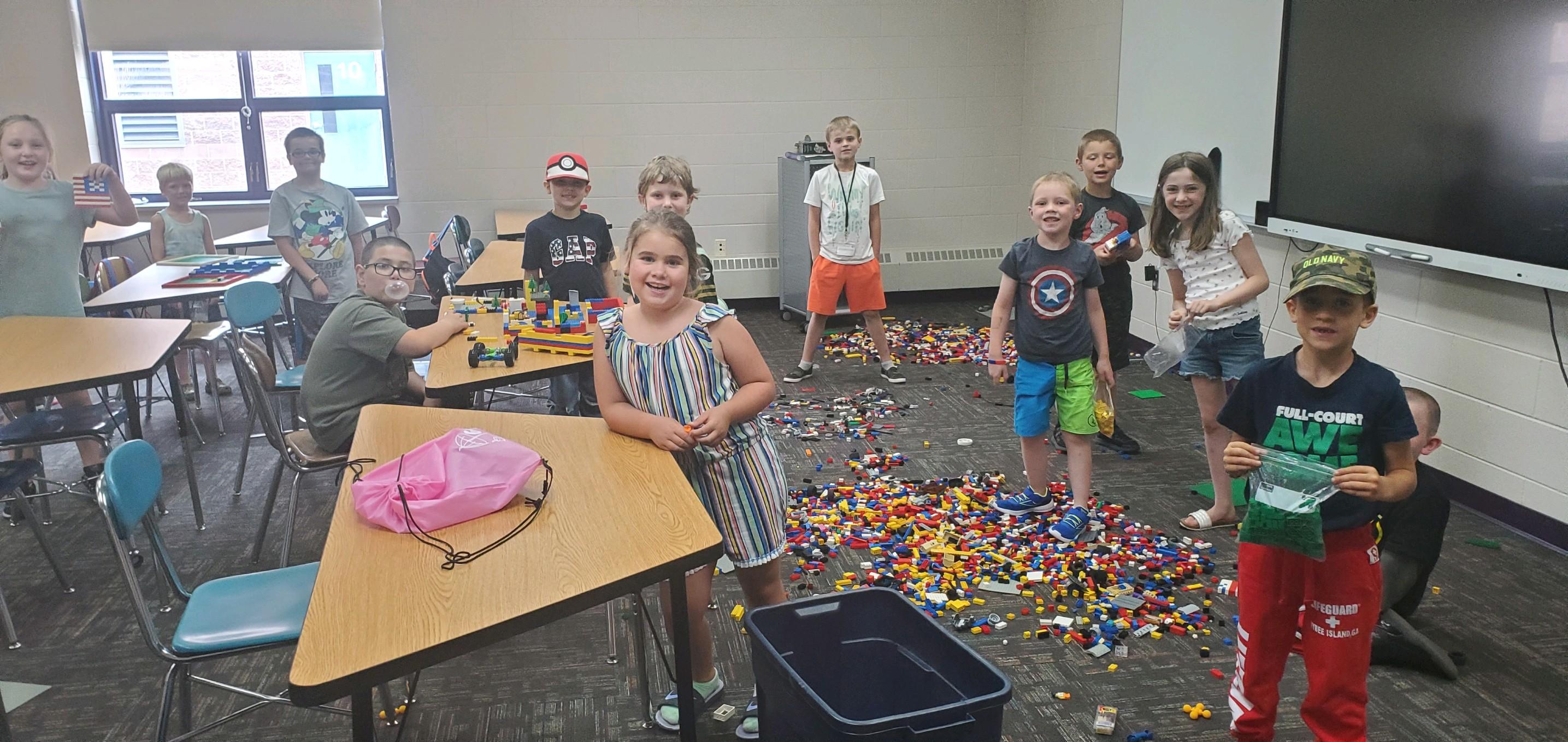 Legos- Summer School