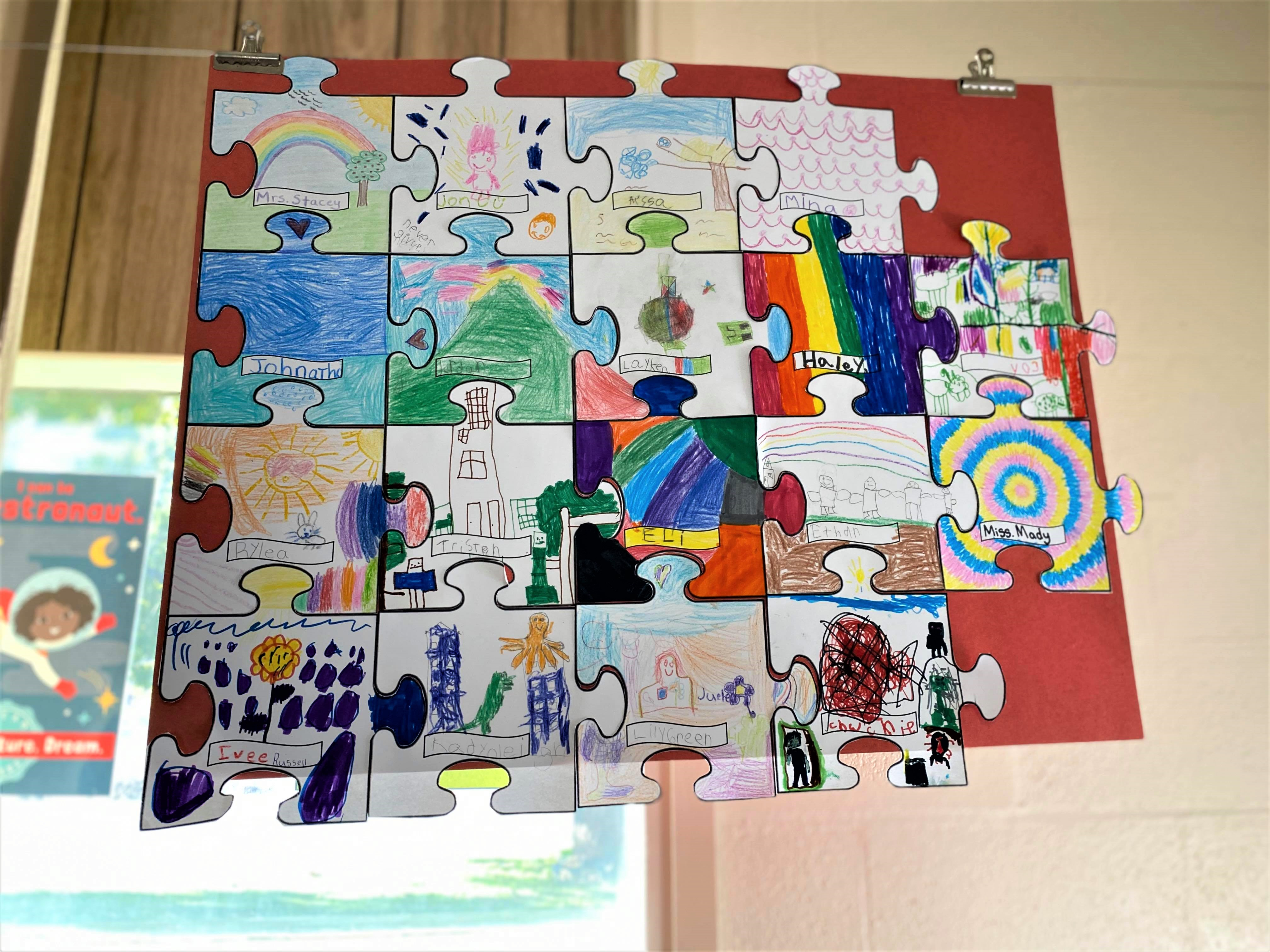 Class artwork from Ms. Stacey's class.