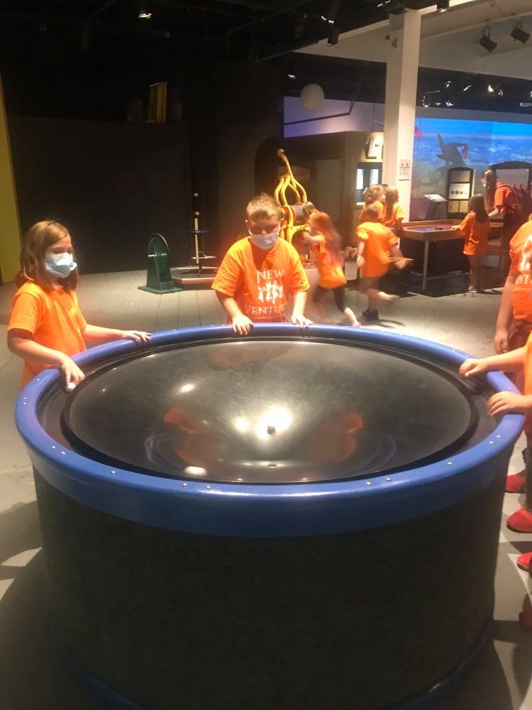 ScienceWorks Fun with New Venture Campers