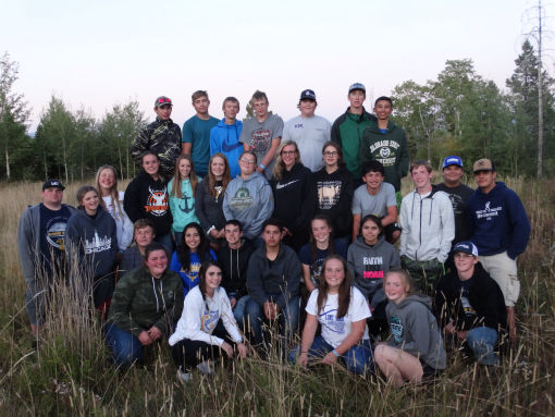 FFA Members  Volunteering