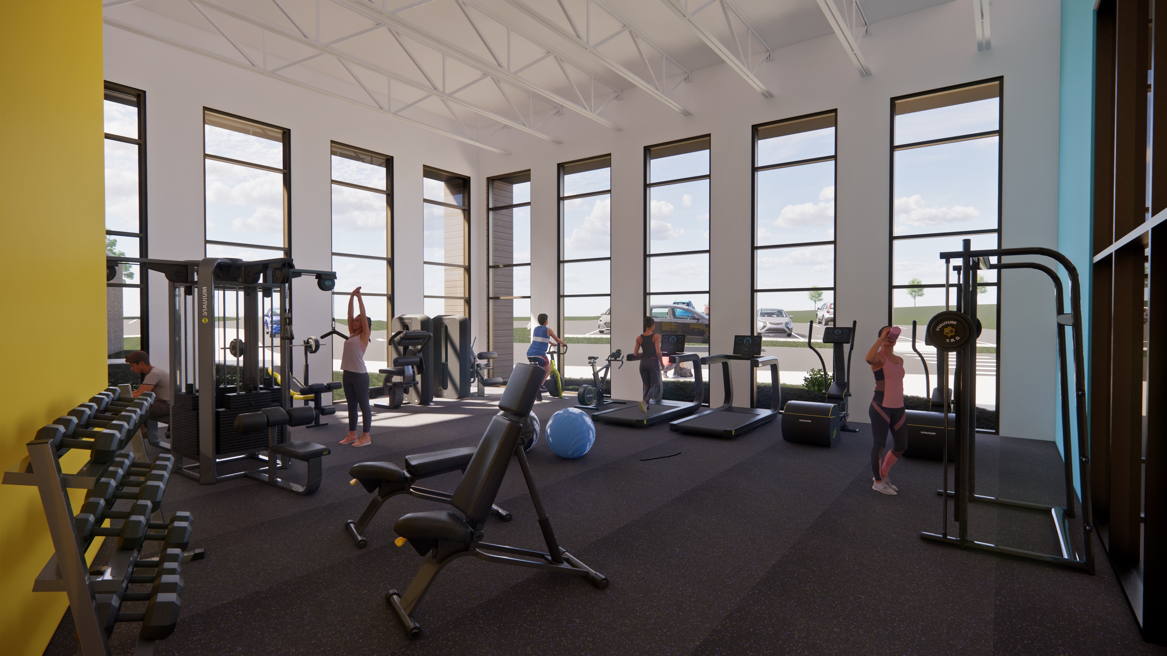 Middle School Fitness Center