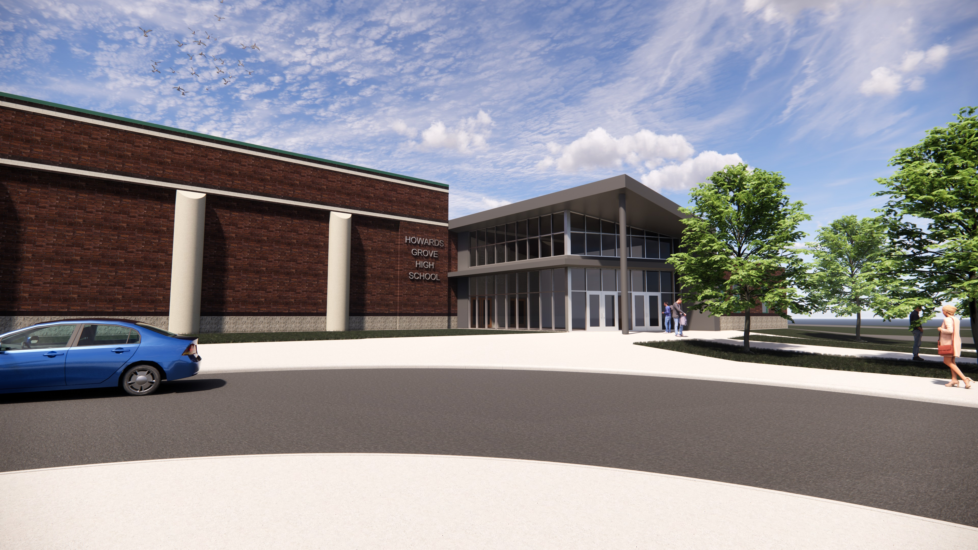 High School Entrance 2