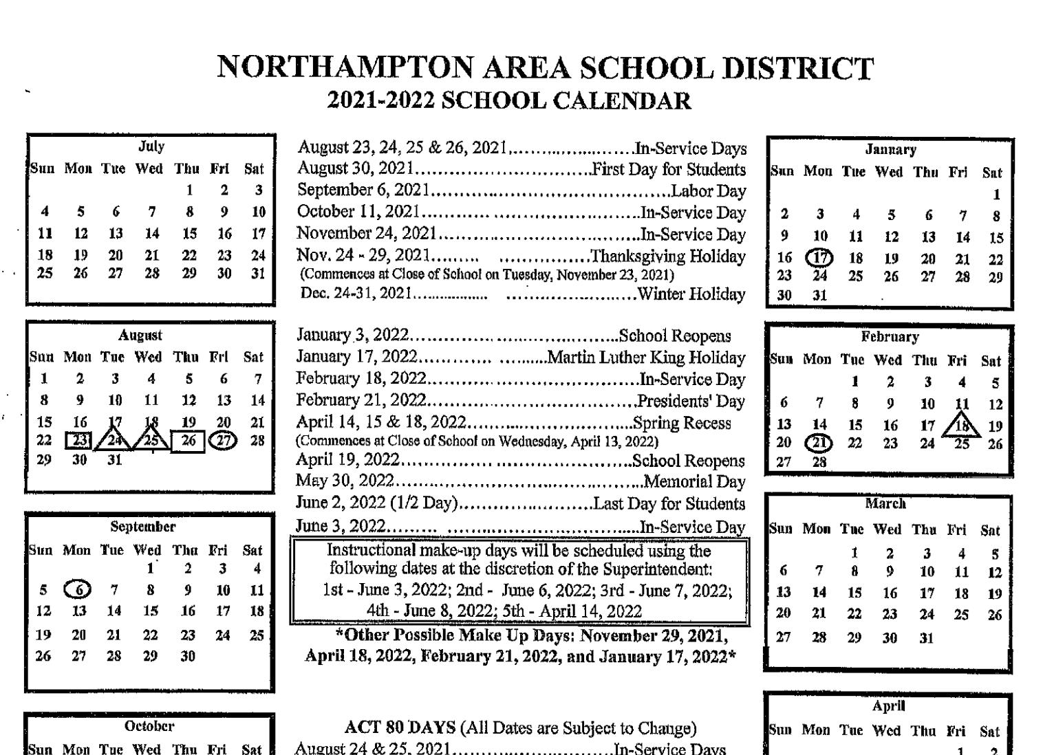 District Calendar thumbnail image