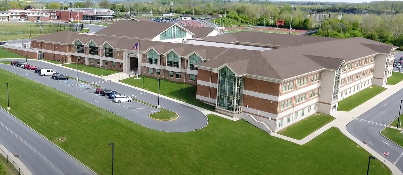 Northampton Area Middle School aerial photo
