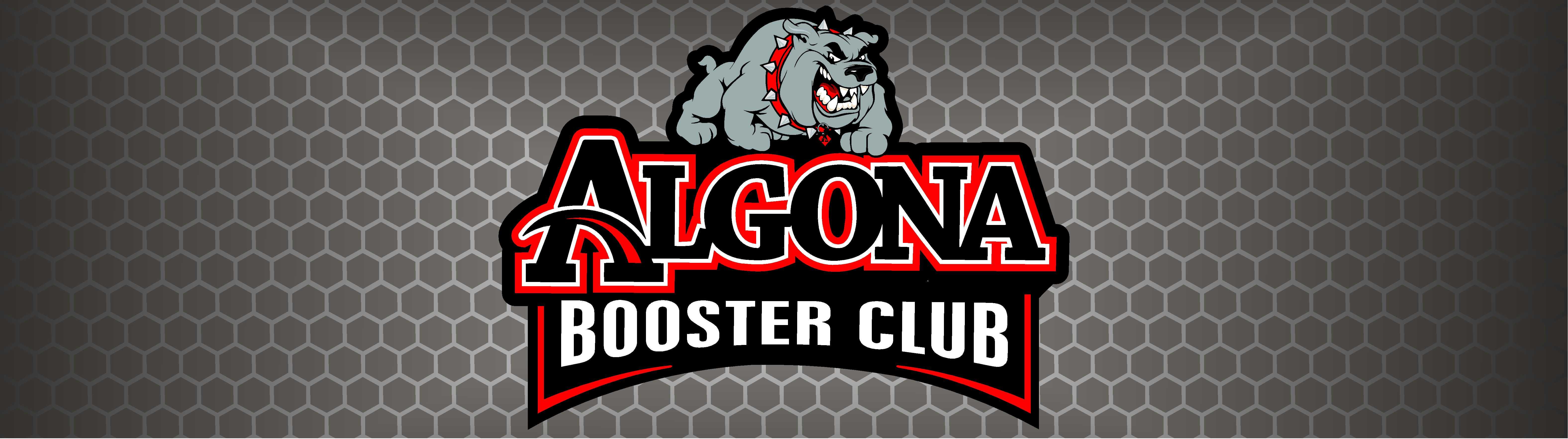 Algona Booster Club banner