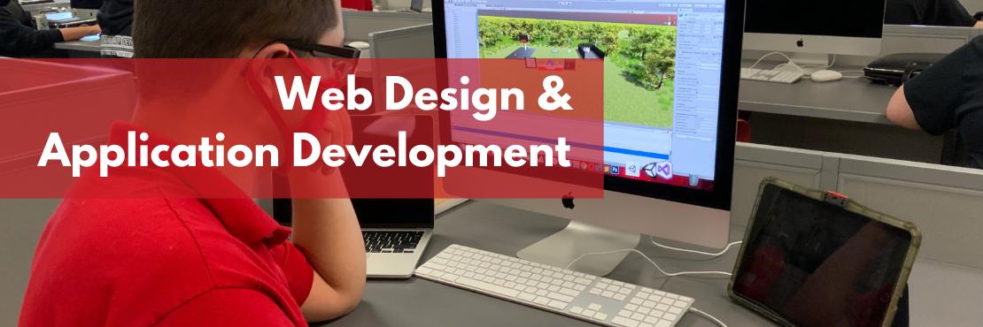 Web Design & Application Development banner