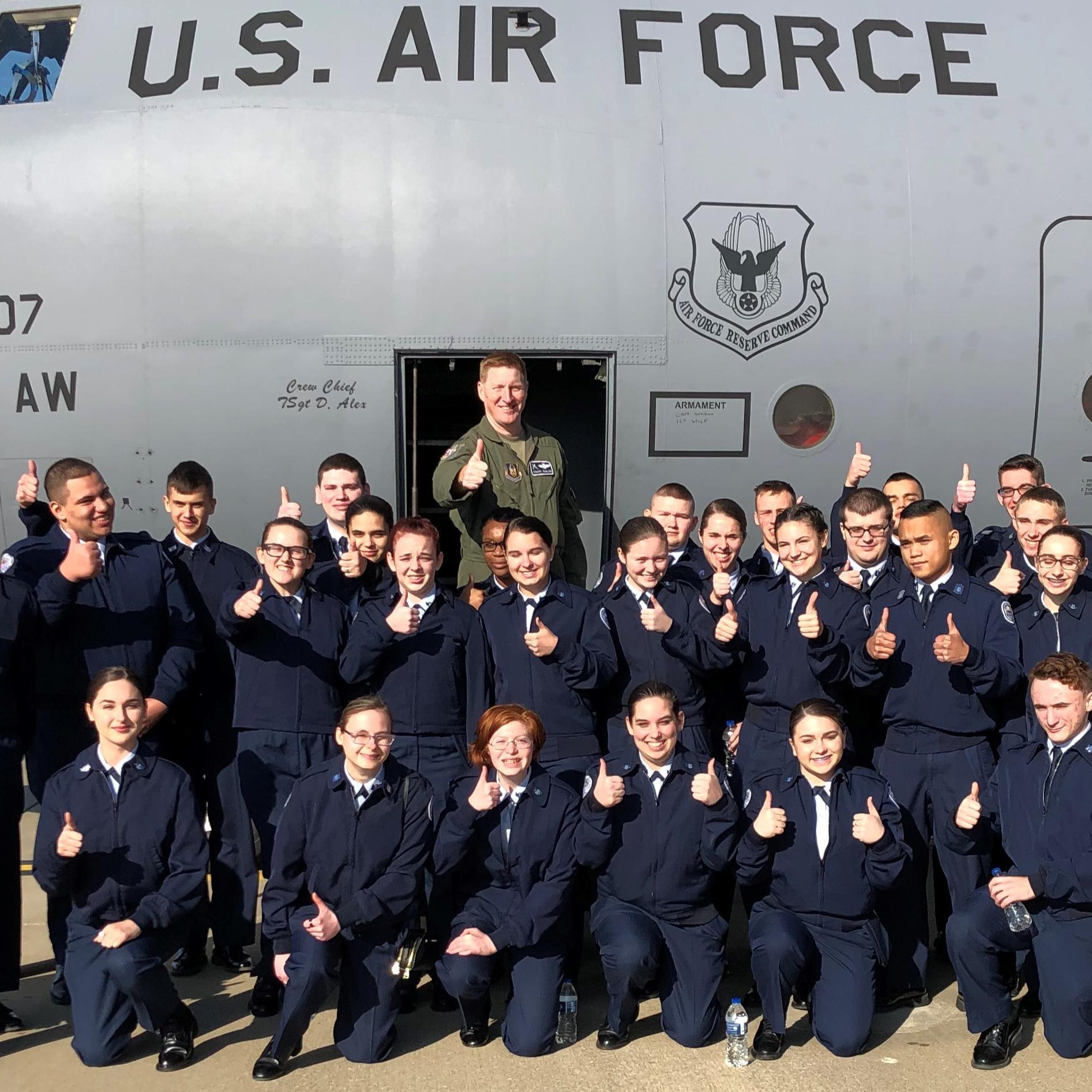 Air Force Jr.  ROTC