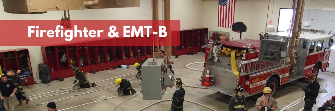 Firefighter & EMT-B banner