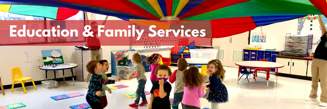Education & Family Services Banner