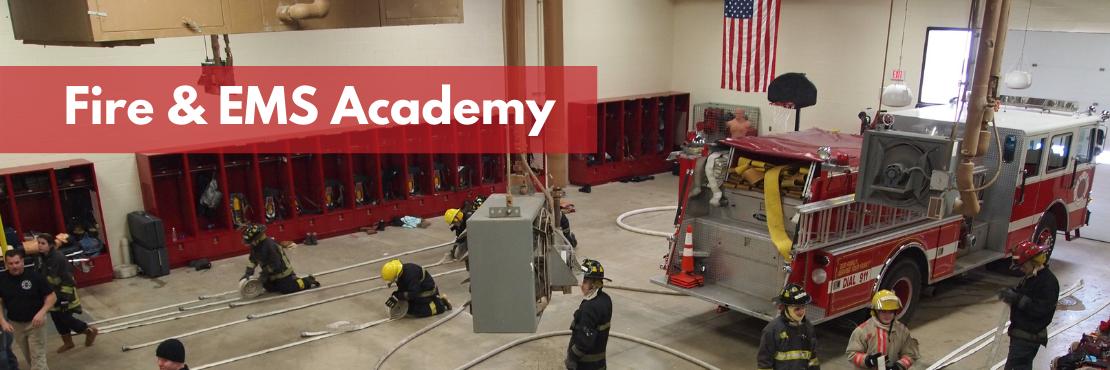 Fire & EMS Academy  banner