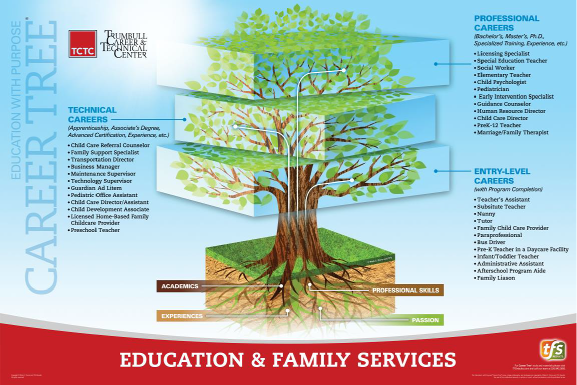 Education & Family  Services Career Tree
