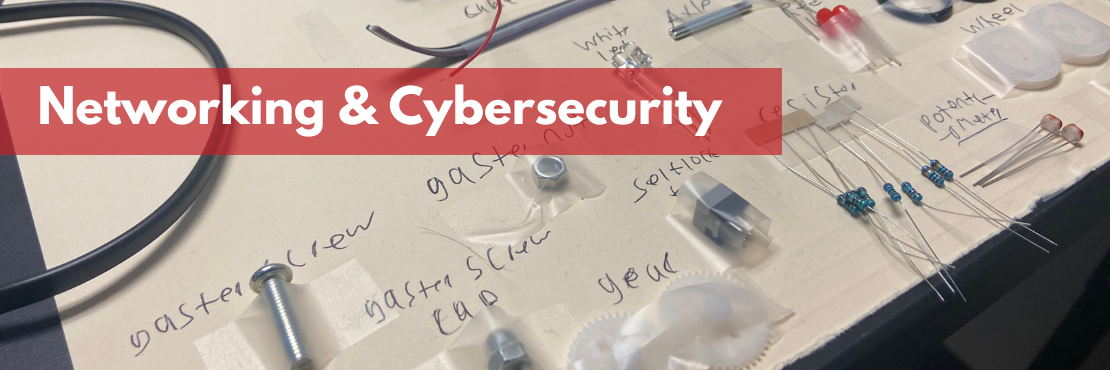 Networking and Cybersecurity Banner