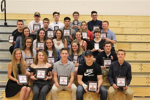 2019TH Spring Athletic Award Winners